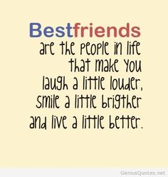 Best friends are people...