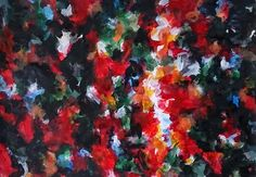 Small works Ⅳ-2014-08-24 380×540(mm) acrylic on paper