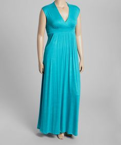 Another great find on #zulily! Jade Sleeveless Maxi Dress - Plus by GLAM #zulilyfinds