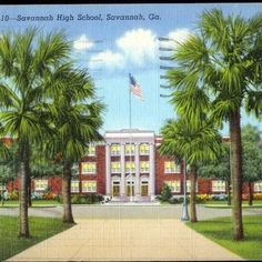 Old Savannah High School 500 Washington Ave. Savannah, .... lived a few doors down from here...