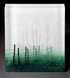 """Light Rain"" | Paul Messink/Turtle Bay Glass"