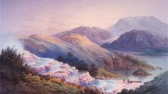Pink and White Terraces, partially uncovered | New Zealand's 8th natural wonder of the world!