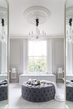 Luxury bathroom design ideas luxury homes, modern interior design, interior design inspiration . Visit www. Bad Inspiration, Bathroom Inspiration, Interior Inspiration, Dream Bathrooms, Beautiful Bathrooms, Luxury Bathrooms, Bathrooms Suites, White Bathrooms, Master Bathrooms
