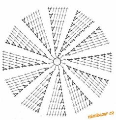 Round rug tutorial