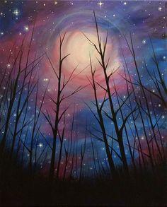 Paint Night Idea                                                                                                                            More #canvaspaintingideas