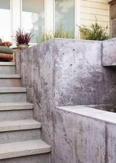 Poured in place concrete  |  Arterra Landscape Architects