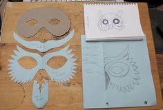 diy by Douglas R Witt Simple Owl Mask, via Flickr.