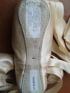 Zapatillas De Punta Para Ballet Minassian 361 2 + Regalo!!!! -   1.200 975116842338
