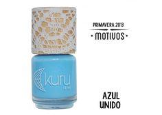 Kuru Esmaltes: Azul Unido - ¡Disponible en Kichink!