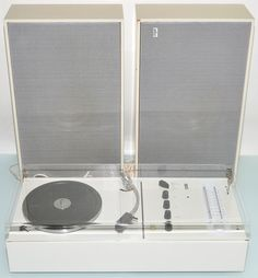 well of course you have to be $2,600. snow white record player - dieter rams for braun