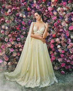 Fresh and Some Trendy Bridal Lehenga Ideas for this summer wedding season Wedding Dresses For Girls, Wedding Dress Styles, Wedding Wear, Bridal Dresses, Girls Dresses, Summer Wedding, Mehendi Outfits, Indian Bridal Outfits, Indian Dresses