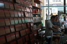 traditional chinese alternative medicine shop selling herbs to treat prevent and treat medical conditions