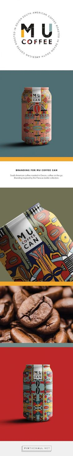 MU Canned Coffee Packaging by Jasmin Gold | Fivestar Branding Agency – Design and Branding Agency & Curated Inspiration Gallery