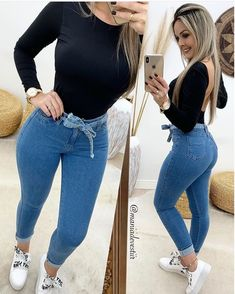 Women's Clothes Online Shopping Sites whether Casual Jean Outfits For Winter between Womens Clothes Catalogues Online half Womens Clothing Sale Au Teenager Outfits, Girly Outfits, Chic Outfits, Fall Outfits, Summer Outfits, Fashion Outfits, Moda Outfits, Outfits Jeans, Jeans Fashion