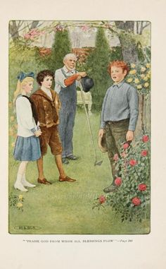 The Secret Garden. Illustrations by Maria L Kirk.
