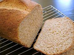 SUPER SIMPLE honey wheat sandwich bread