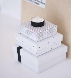 Diy storage boxes from cocolapine.wordpress.com