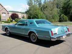 1979 Lincoln Continental Mark V Cartier