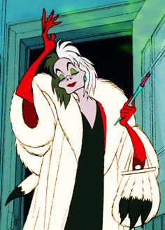 'She's like a spider waiting for the kill. Look out for Cruella De Vil.'