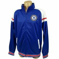 CHELSEA SOCCER OFFICIAL JACKET SZ. XL by Chelsea F.C.. $43.94. Top Quality, Manufactured by Rhinox Group. Officially licensed by the Chelsea FC. Officially licensed by the Other. Stay stylish and show your team spirit with this official Chelsea Soccer Jacket. 100% Polyester construction. Lightweight and water resistant. Super soft interior lining.Features official team logos and colors. Official embroidered Chelsea Soccer patch. Zippered front with elastic waistband...