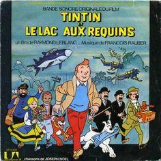 Tintin et le lac aux requins - B.O.F.  dessin de HERGÉ