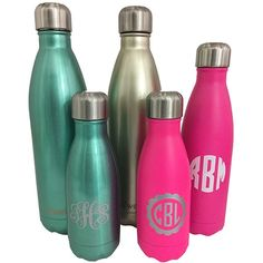 Perfect gift for all.  Monogrammed Swell Bottle. S'well Water Bottle