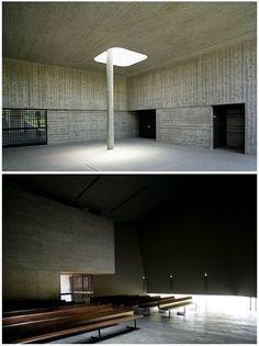 Kaze-no-Oka Crematorium, Nakatsu (1997)   Fumihiko Maki