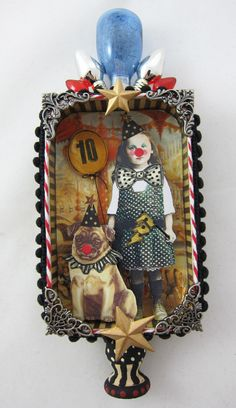 junk&stuff: altered tin by Kristin Batsel