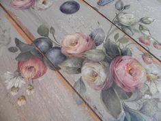 a painted gardewn by mary jo leisure painting books - - Image Search Results One Stroke Painting, Types Of Painting, Tole Painting, Decoupage, Painted Books, Pictures To Paint, Painting Patterns, Doodles, Painting Inspiration