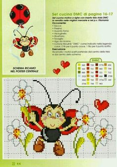 View album on Yandex. Cross Stitch For Kids, Cross Stitch Baby, Cross Stitch Alphabet, Cross Stitch Animals, Cross Stitch Charts, Cross Stitch Patterns, Beading Patterns, Embroidery Patterns, French Knot Stitch