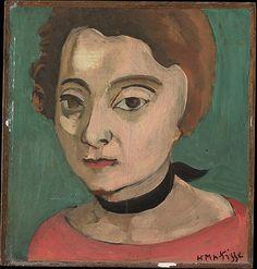 Henri Matisse ~ Marguerite, 1916