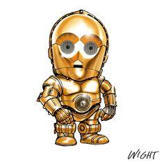 Star Wars Chibi | Chibi Star Wars Characters Representing Alphabet Source