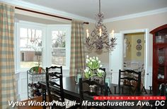 bay window treatments for kitchen?