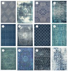 12 Favorite Blue Rugs!