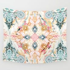Wonderland in Spring Wall Tapestry society6 79