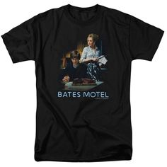 Bate's Motel Die Alone Black T-Shirt