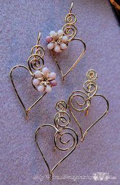 Wigs Jig, Secret Serendipity, Jewelry Design, Heart Earrings, Jig Templates, Jewelry Projects, Jewelry Ideas, Projects Inspiration, Charms Heart