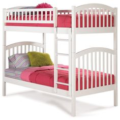 http://www.simplybunkbeds.com/twin-over-twin/wood-bunk-beds/richmondtwinovertwinbunkbed.cfm  81L x 41.5W x 69H inches  $951.30  (excludes Mattresses, Bedding, Accessories)