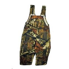 Mossy Oak baby overall's,