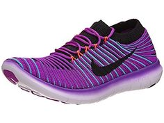 Nike Womens Free RN MotionHYPER VIOLETBLACKGAMMA BLUE100 *** More info could be found at the image url. (This is an Amazon affiliate link)