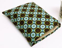 fabric book cover book sleeve book pouch book lover gift