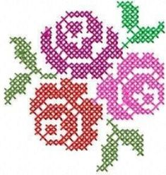 Awesome Most Popular Embroidery Patterns Ideas. Most Popular Embroidery Patterns Ideas. Cross Stitch Cards, Cross Stitch Rose, Cross Stitch Borders, Cross Stitch Flowers, Cross Stitch Designs, Cross Stitching, Cross Stitch Embroidery, Embroidery Patterns, Hand Embroidery