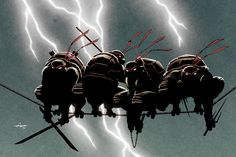 Turtles on a Wire by Ian-Navarro on deviantART