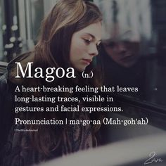 Magoa – Magoa – The post Magoa – appeared first on Woman Casual - Life Quotes The Words, Fancy Words, Weird Words, Words To Use, Cool Words, Words Of Wisdom Love, Words Hurt, Unusual Words, Unique Words