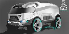 Concept Kamaz Dakar Rally Truck