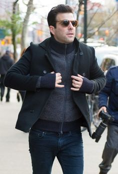 Zachary Quinto Photos - Zachary Quinto Goes out in New York City - Zimbio