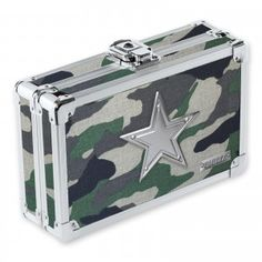 It's your stuff so LOCK IT UP!™ This catch-all supply box is durable and cool, and is the perfect size to throw in a backpack, drawer, or glove compartment. Print Box, Camo Print, Metal Prices, Box Store, Pencil Boxes, Key Lock, School Supplies, Office Supplies, Consumer Products