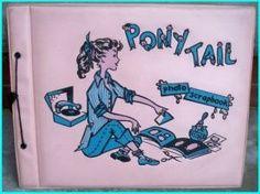 WHEN I WAS A KID - Autograph books. Seems like I had the very same one.