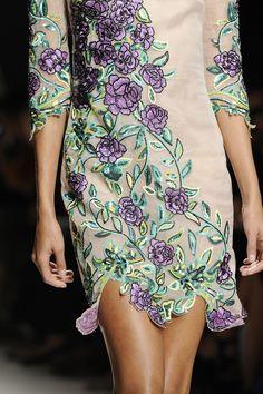 Blumarine Milan Fashion Week Spring 2015 Details