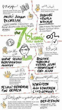 The 7 Islamic Daily Habits – Berbagi Kisah Reminder Quotes, Self Reminder, Hijrah Islam, Doa Islam, Moslem, Islamic Quotes Wallpaper, Religion Quotes, Learn Islam, Islamic Teachings